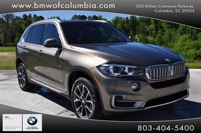 Pre Owned 2017 Bmw X5 Suv In Columbia H0x05055 Bmw Of Columbia