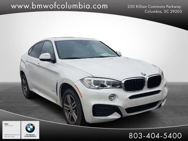 Pre-Owned 2019 BMW X6*Driving Assistance Plus*Luxury Seating Pkge*M Sport Pkge*Navigation*Harmon Kardon Sound