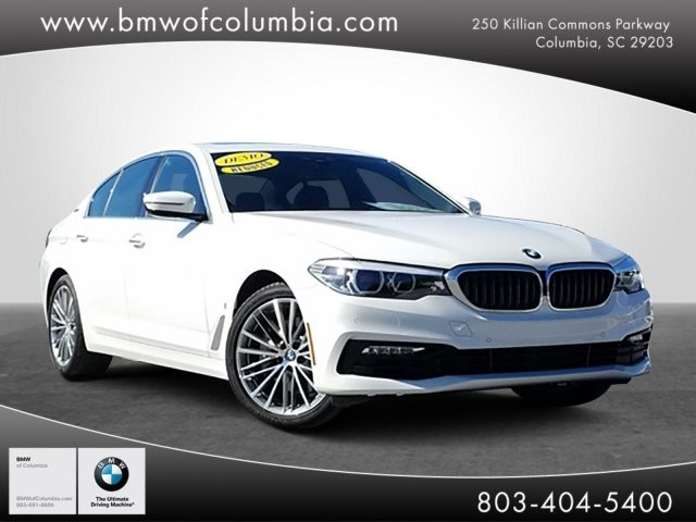 Pre-Owned 2018 BMW 5 Series